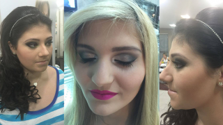 Maquiagem e cabelo para festas de 15 anos